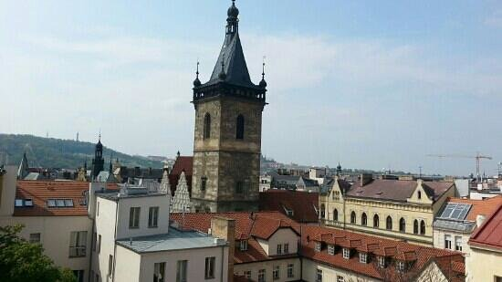 Hotel Praga 1: view from the room 501