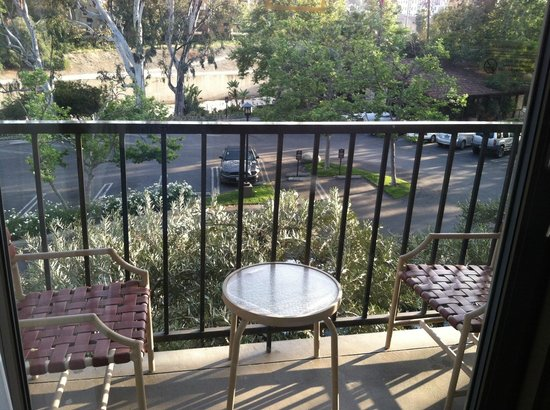 Beverly Garland's Holiday Inn: Balcony off room