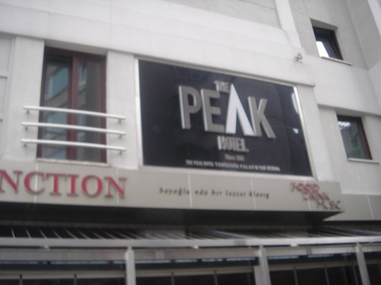 The Peak Hotel: Hotel Sign