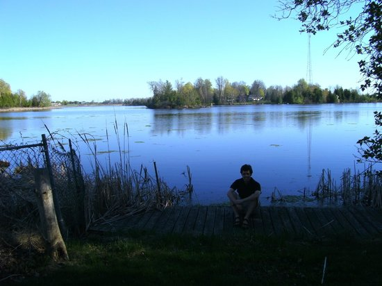 Smiths Falls, Canada: Lake in the backyard