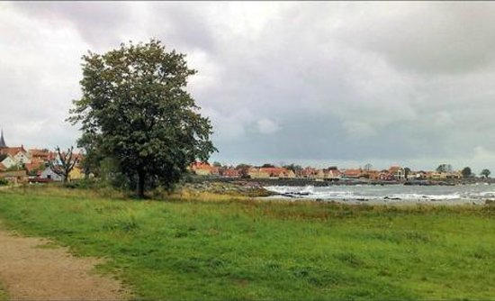 Allinge, Danemark : Waterfront