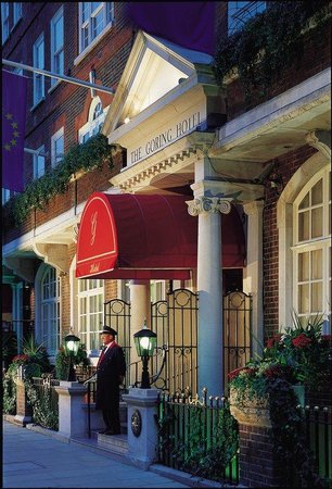 The Goring: Hotel Entrance- The Warmest of Welcomes