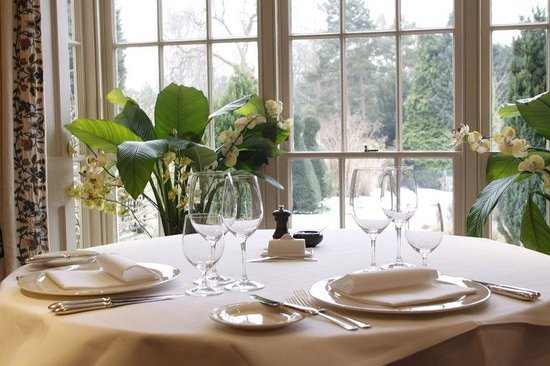 The Bath Priory Hotel: The Priory Restaurant
