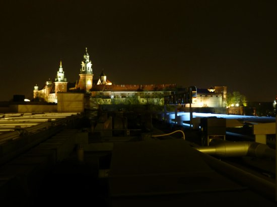 Sheraton Krakow Hotel: Sheraton Krakow, View from terrace bar