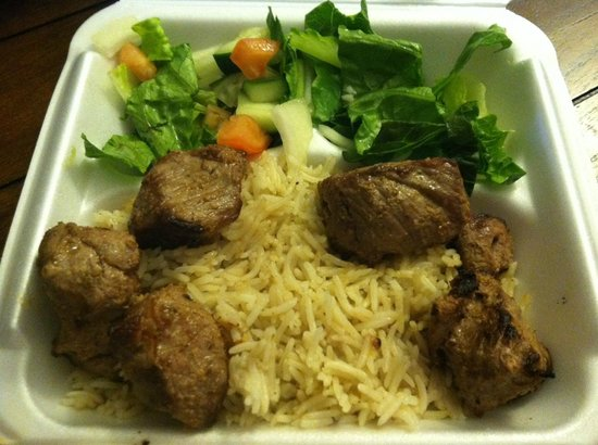 Catonsville, MD: lamb kabob