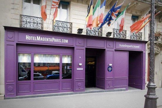 Hotel Magenta Paris: Summer