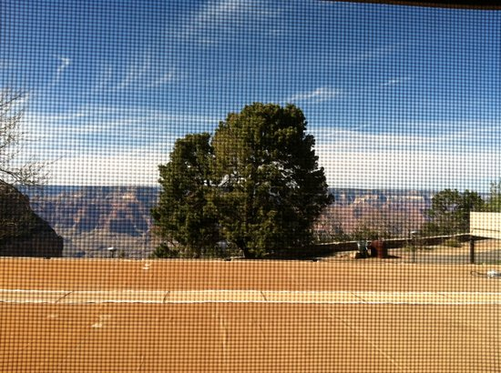 Thunderbird Lodge : View of the canyon from the room