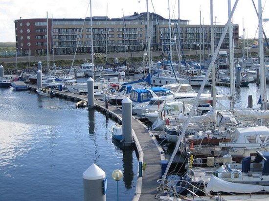 Ijmuiden, Nederland: Hotel and Seaport Marina