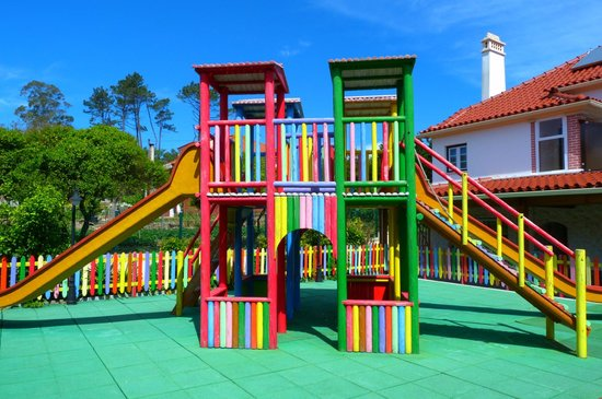 Monte Real, Portugal: Children Play Area