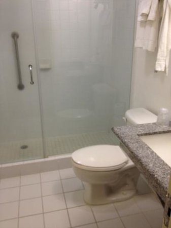 Four Points by Sheraton Historic Savannah: the whole bathroom in 542