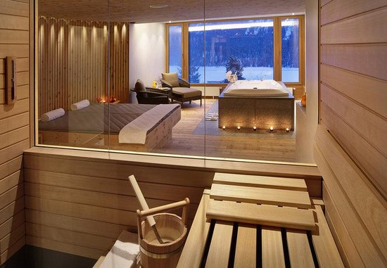 Kulm Hotel St. Moritz: Private Spa Suite