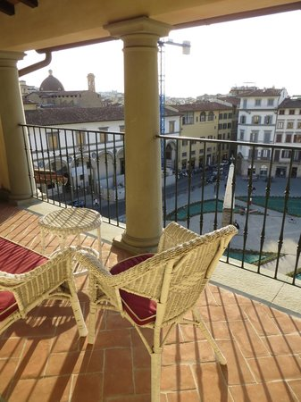 Santa Maria Novella Hotel: Amazing view off our balcony