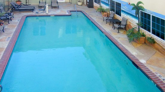 Holiday Inn Express Hotel & Suites Hollywood Hotel Walk of Fame: Swimming pool