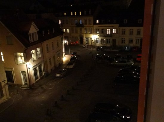 Hotel Am Markt: Night view from our room