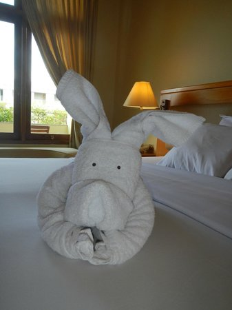 Febri&#39;s Hotel &amp; Spa: Towel Animals