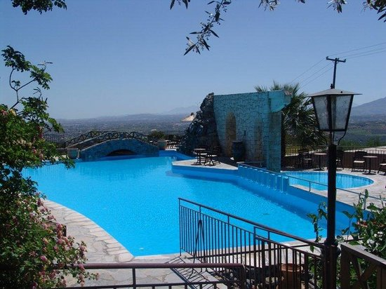 Arolithos Traditional Cretan Village: Pool view