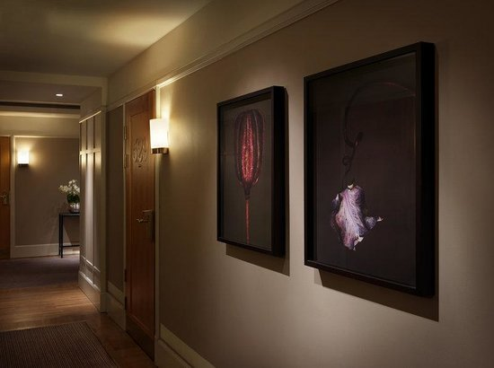 Art in Hallway at Hotel Diplomat Stockholm