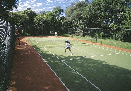 Waitangi, New Zealand: Tennis Court