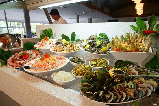 Waitangi, New Zealand: Buffet