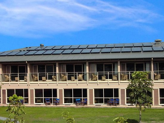 Copthorne Hotel & Resort Bay of Islands: Solar Panels
