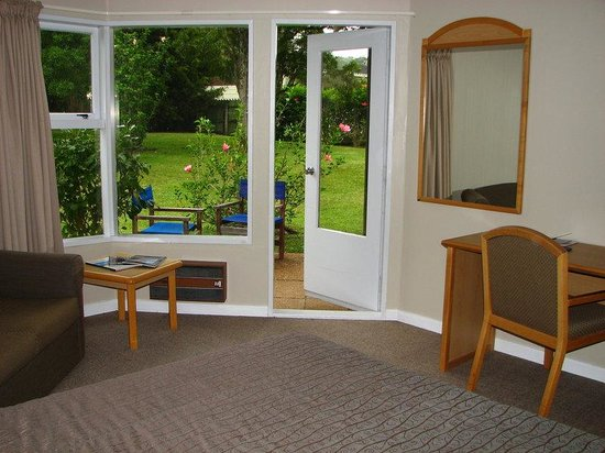 Waitangi, New Zealand: Standard Garden View Room