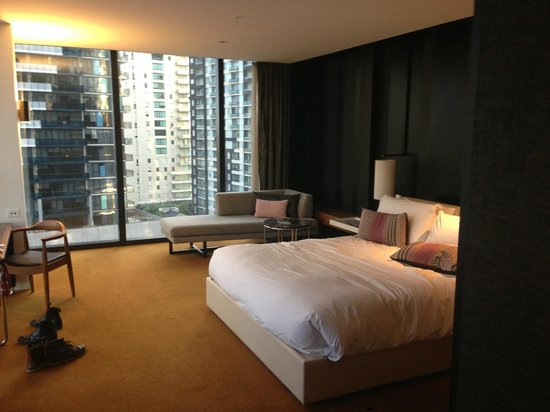 Crown Metropol Melbourne: Very comfortable room!