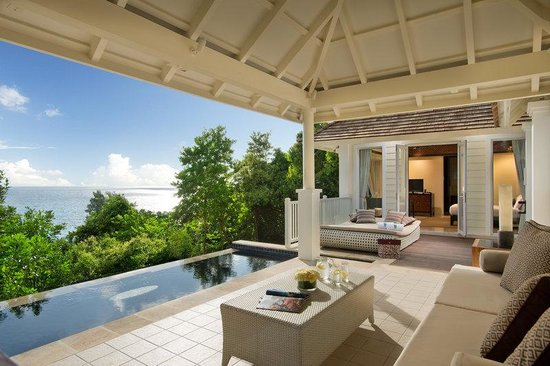 Banyan Tree Seychelles: Hillside Pool Villa
