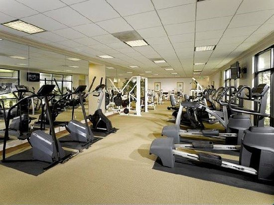 Oakwood Apartments Long Beach Marina: Fitness Center