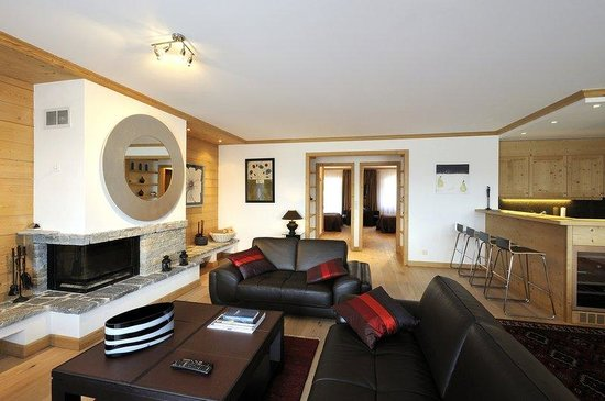 Villars-sur-Ollon, Suisse : Two Bedroom Apartment