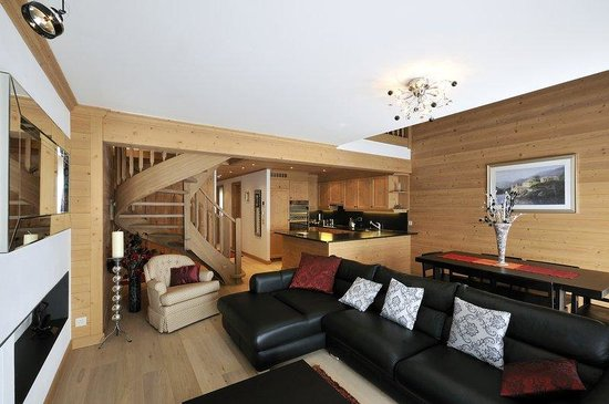 Villars-sur-Ollon, Suisse : Three Bedroom Apartment