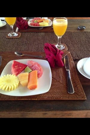 Villa Bali Asri: Fresh fruits every morning!