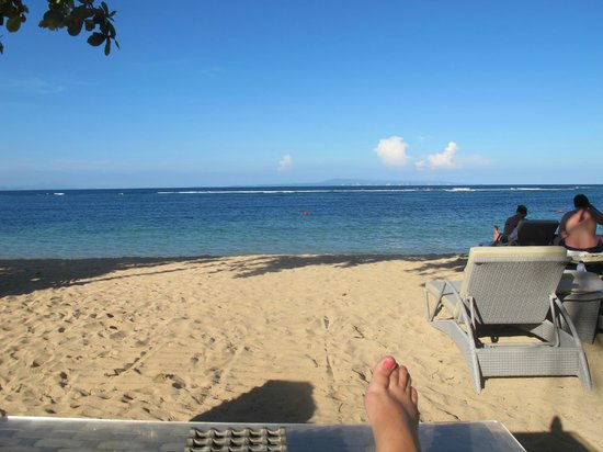 The Westin Resort Nusa Dua, Bali: The gorgeous beach