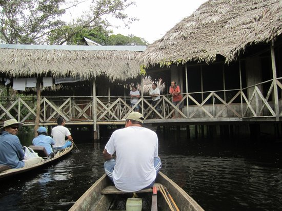 Amazonia Expeditions' Tahuayo Lodge: Arriving at the lodge