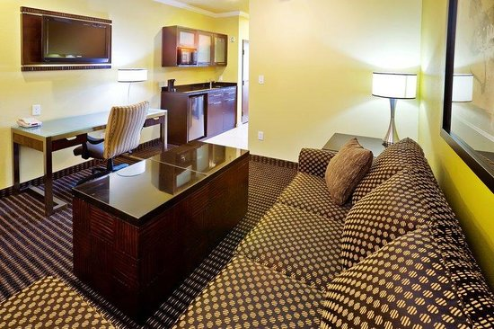 Holiday Inn Hotel &amp; Suites McKinney - Fairview: Sitting Area of One-Bedroom Suite