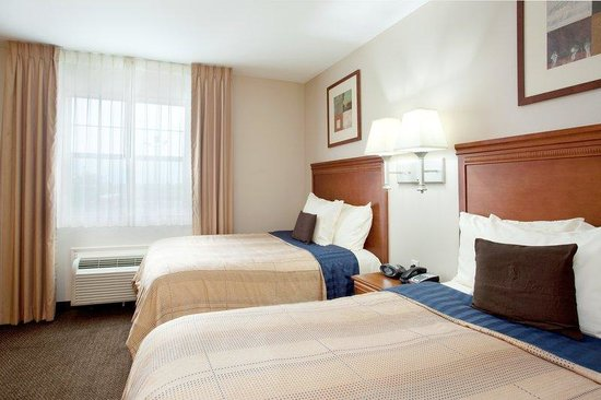 Candlewood Suites Galveston: Double Bed Guest Room