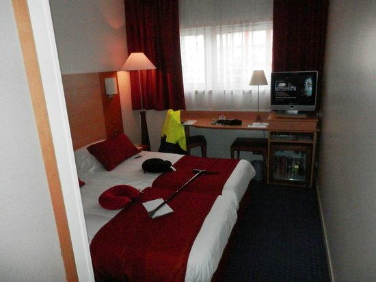 Forest Hill Paris La Villette: Twin Room