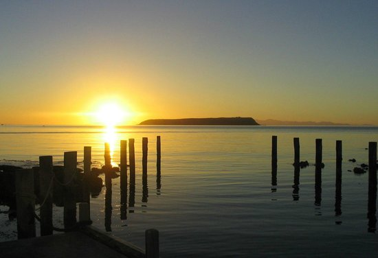 Porirua, New Zealand: Plimmerton sunset