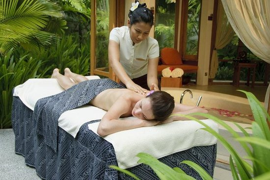 Anantara Veli Resort & Spa: Garden Spa Massage