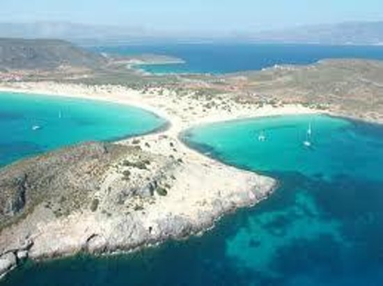 Simos beach a 4 km dal paese,il paradiso - Picture of Il ...