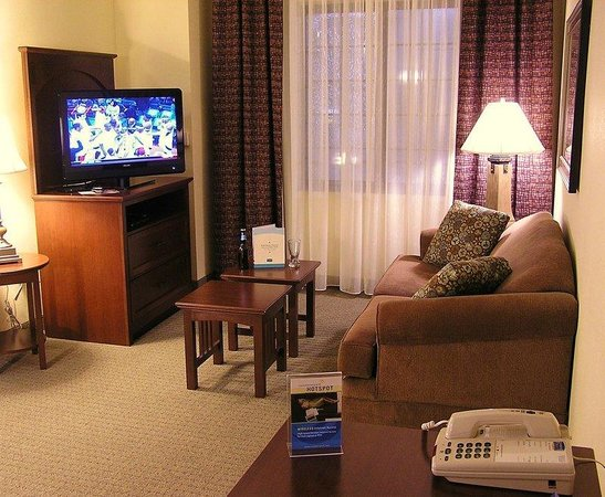 Staybridge Suites Harrisburg: 1 and 2 Bedroom Suite Living Room