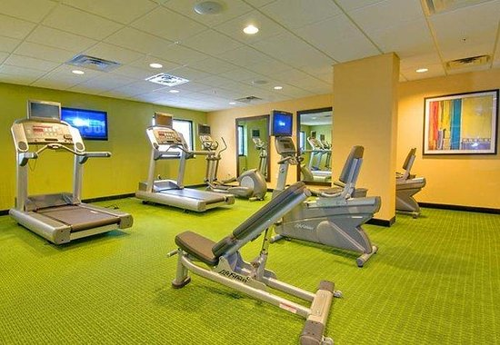 Fairfield Inn &amp; Suites Miami Airport South: Fitness Room