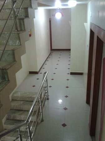 Stairs and hallway - Picture of Hotel Relax Inn, Diu - TripAdvisor
