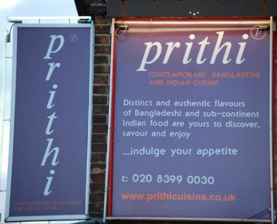 Surbiton, UK: @prithicuisine