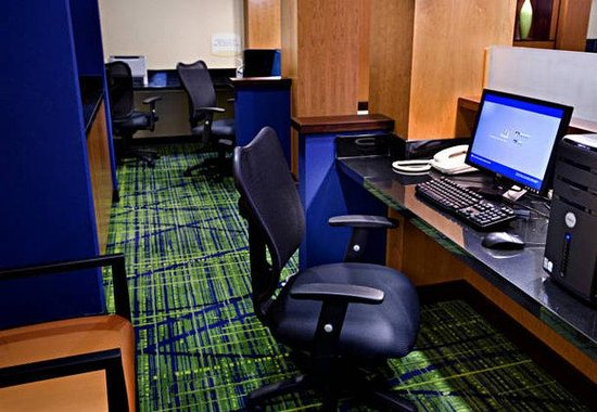 Fairfield Inn & Suites Chattanooga I-24/Lookout Mountain: Business Center