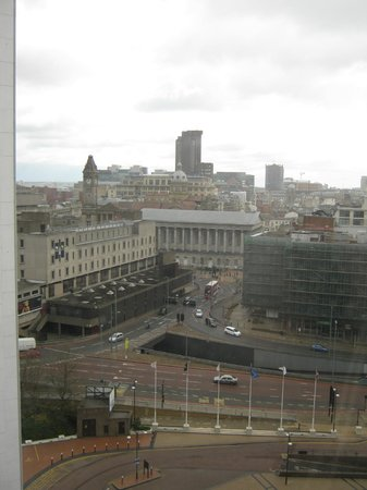 Crowne Plaza Birmingham City Centre : view from room