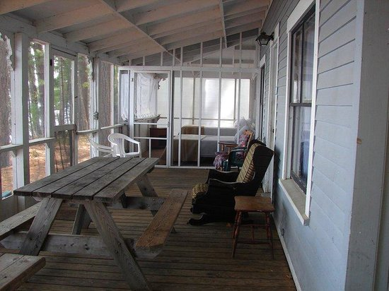 Tilton, NH: Trapp House  Porch - House Rental