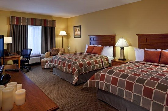 BEST WESTERN PLUS University Park Inn & Suites: Double Queen Room