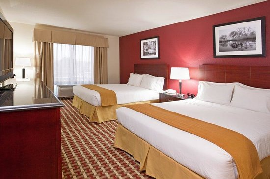 Holiday Inn Express Hotel & Suites Columbus University Area - OSU: Standard Two Queen Beds