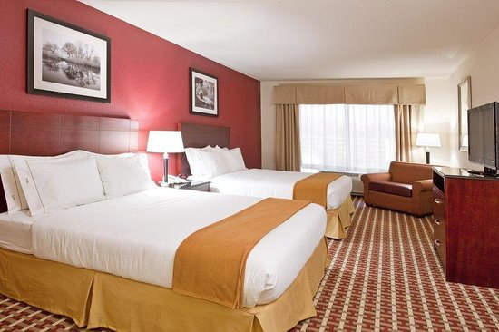 Holiday Inn Express Hotel & Suites Columbus University Area - OSU: Queen Bed Guest Room
