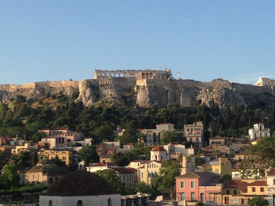 A for Athens: View from room 43.